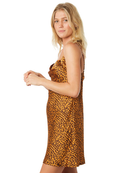 LEOPARD WOMENS CLOTHING TWIIN DRESSES - IE19S1456LEO