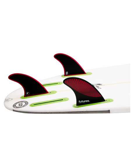 BURGUNDY BLACK BOARDSPORTS SURF FUTURE FINS FINS - 1176-161-00BURBK