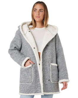 GREY MARLE WOMENS CLOTHING SWELL JACKETS - S8171381GREY