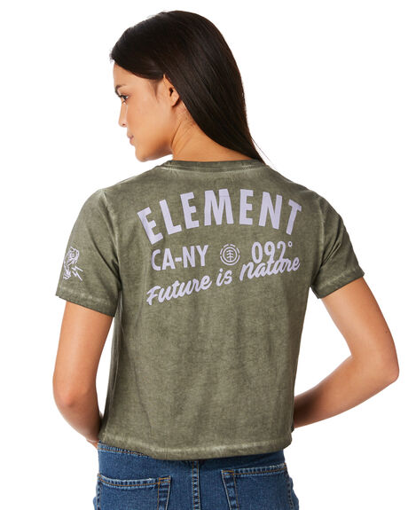 MOSS WOMENS CLOTHING ELEMENT TEES - 283005M08