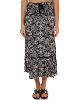 VINTAGE BLACK WOMENS CLOTHING VOLCOM SKIRTS - B1441775VBK