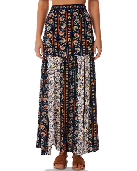 INDIGO WOMENS CLOTHING TIGERLILY SKIRTS - T385278IND