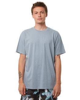 WASHED BLUE OUTLET MENS NO NEWS TEES - N5182005WSHBL