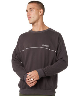 CHARCOAL MENS CLOTHING LOWER JUMPERS - LO19Q1MSW01CHAR