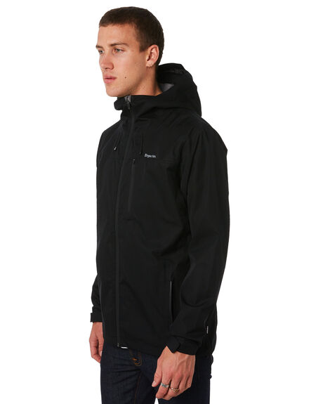 BLACK MENS CLOTHING DEPACTUS JACKETS - D5182381BLACK
