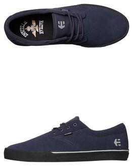 GREY GREEN MENS FOOTWEAR ETNIES SKATE SHOES - 4101000449-022