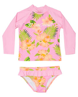 PINK BOARDSPORTS SURF RIP CURL TODDLER GIRLS - FSIBX10020