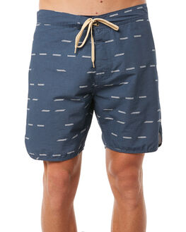 DASHES NAVY MENS CLOTHING MOLLUSK BOARDSHORTS - MS1270DSN