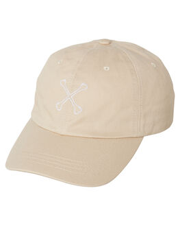 CREAM MENS ACCESSORIES BILLY BONES CLUB HEADWEAR - BBCHAT002CRM