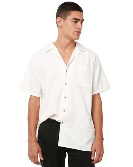 WHITE MENS CLOTHING AFENDS SHIRTS - M182201WHT
