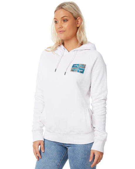 WHITE WOMENS CLOTHING RUSTY JUMPERS - FTL0679WHT