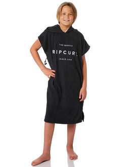 BLACK KIDS BOYS RIP CURL TOWELS - KTWCG10090