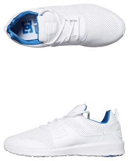 WHITE BLUE MENS FOOTWEAR DC SHOES SNEAKERS - ADYS700084WBL