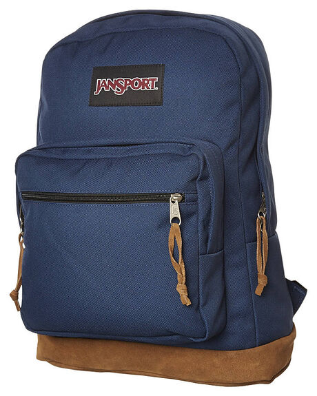 NAVY MENS ACCESSORIES JANSPORT BAGS - JSTYP7_JS003NVY
