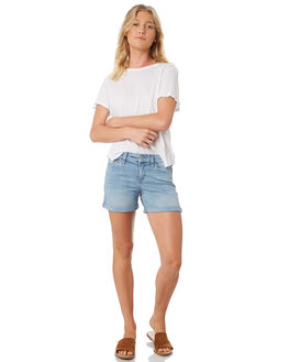 NORDIC BLUE WOMENS CLOTHING RIDERS BY LEE SHORTS - R551429FL4