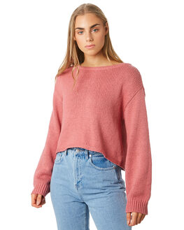 DUSTY ROSE WOMENS CLOTHING BILLABONG KNITS + CARDIGANS - 6596791DU4
