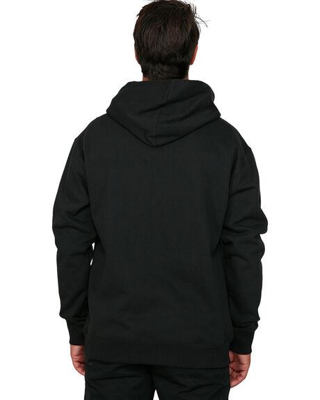 BLACK MENS CLOTHING RVCA JUMPERS - RV-R306151-BLK
