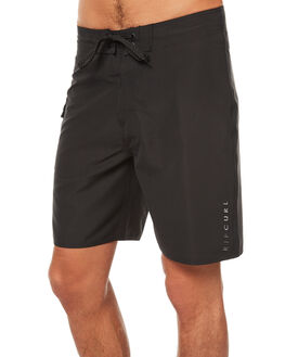 WASHED BLACK MENS CLOTHING RIP CURL BOARDSHORTS - CBOOR18264