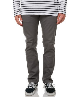 CHARCOAL MENS CLOTHING BRIXTON PANTS - 04044CHA