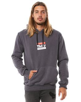 VINTAGE BLACK MENS CLOTHING THRILLS JUMPERS - TH8-204VBVBLK