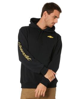 BEL AIR BLACK MENS CLOTHING BRIXTON JUMPERS - 02818BELBK