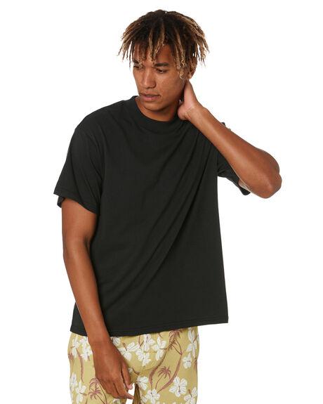 BLACK MENS CLOTHING THE CRITICAL SLIDE SOCIETY TEES - TE2054BLACK