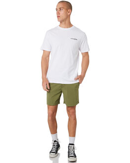 OLIVE MENS CLOTHING THE CRITICAL SLIDE SOCIETY BOARDSHORTS - BS1895OLI