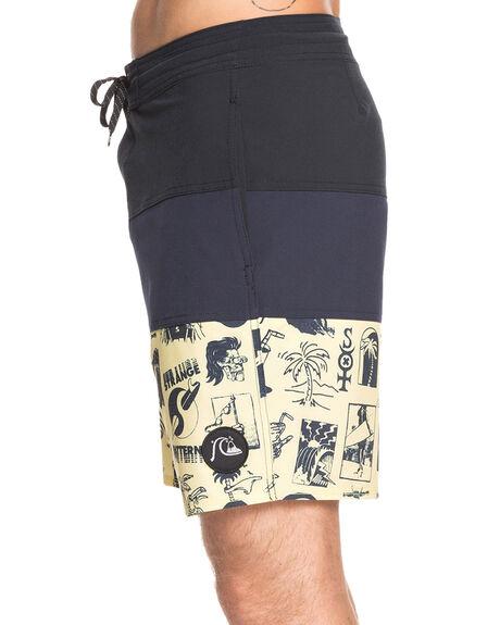 NAVY BLAZER MENS CLOTHING QUIKSILVER BOARDSHORTS - EQYBS04278-BYJ0