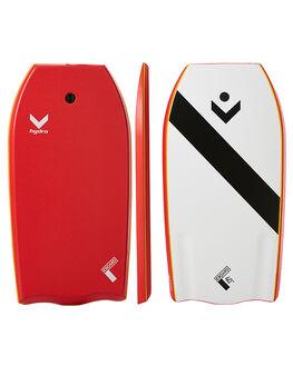 RED SURF BODYBOARDS HYDRO BOARDS - CB17-HYD-040RED