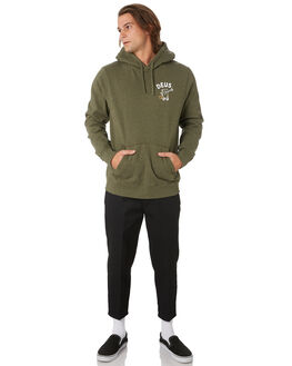 LEAF MARLE MENS CLOTHING DEUS EX MACHINA JUMPERS - DMF98975LEAF