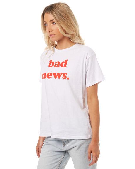 WHITE WOMENS CLOTHING TEE INK TEES - FW2055WHT
