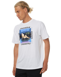 WHITE MENS CLOTHING GOOD WORTH TEES - TPD1731WHT