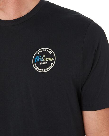 BLACK MENS CLOTHING VOLCOM TEES - A5001913BLK