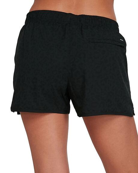 BLACK PRINT WOMENS CLOTHING RVCA ACTIVEWEAR - RV-R405313-9PT