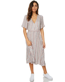 PAINTED STRIPE WOMENS CLOTHING THE HIDDEN WAY DRESSES - H8173442PSTR