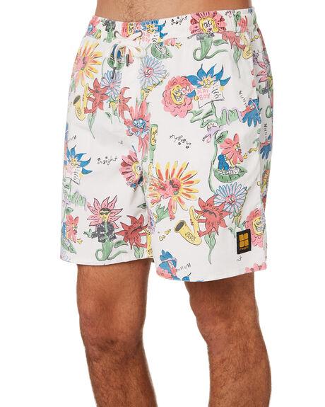 WHITE MENS CLOTHING INSIGHT BOARDSHORTS - 5000003649WHT