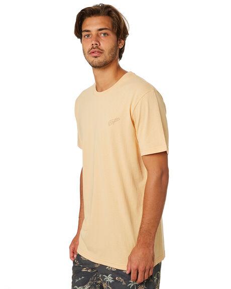 DUSTY PEACH MENS CLOTHING RHYTHM TEES - JAN19M-PT01-PEA