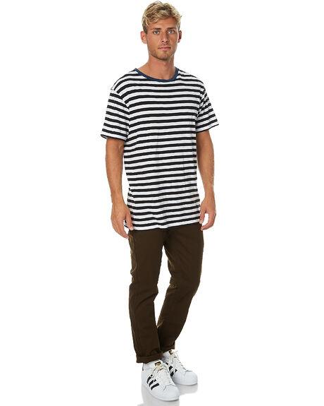 BROWN MENS CLOTHING BRIXTON PANTS - 04044BRN