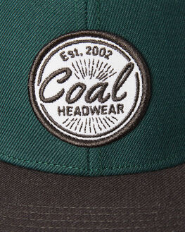 GREEN MENS ACCESSORIES COAL HEADWEAR - 220006GRN