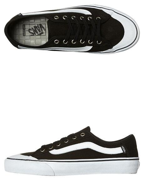 BLACK WHITE MENS FOOTWEAR VANS SNEAKERS - VN-019B6BTBKWH