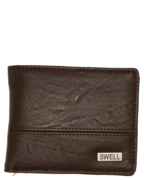BROWN MENS ACCESSORIES SWELL WALLETS - S51841582BRN