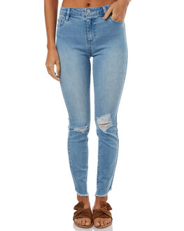 BLUE SMOKE WOMENS CLOTHING RIDERS BY LEE JEANS - R-551280-CT3BLUE