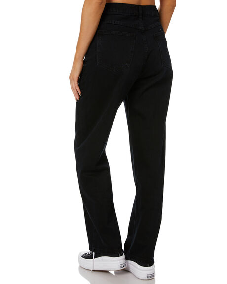 BLACK WOMENS CLOTHING ABRAND JEANS - 72324-100
