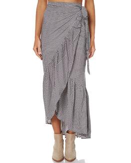 CHECK WOMENS CLOTHING RUE STIIC SKIRTS - CC09CHE