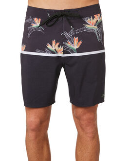 WASHED BLACK MENS CLOTHING RIP CURL BOARDSHORTS - CBOSR18264