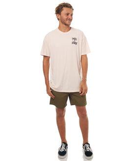 PINK MENS CLOTHING STUSSY TEES - ST071013PINK