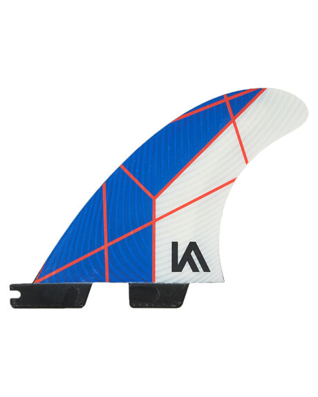 BLUE WHITE BOARDSPORTS SURF FCS FINS - FKAG-PC01-GM-TS-RBLU
