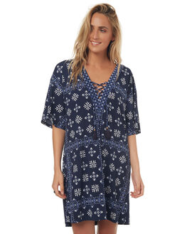 INDIGO WOMENS CLOTHING TIGERLILY DRESSES - T372033IND