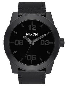 ALL BLACK BLACK MENS ACCESSORIES NIXON WATCHES - A2431147