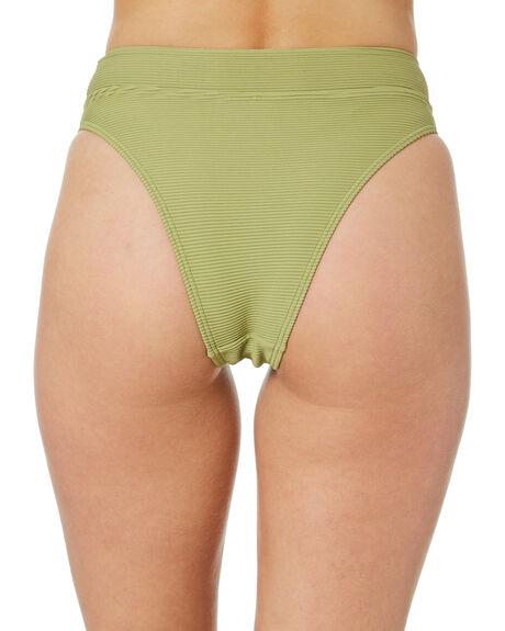 ALOE GREEN WOMENS SWIMWEAR SWELL BIKINI BOTTOMS - S8211337ALOGN